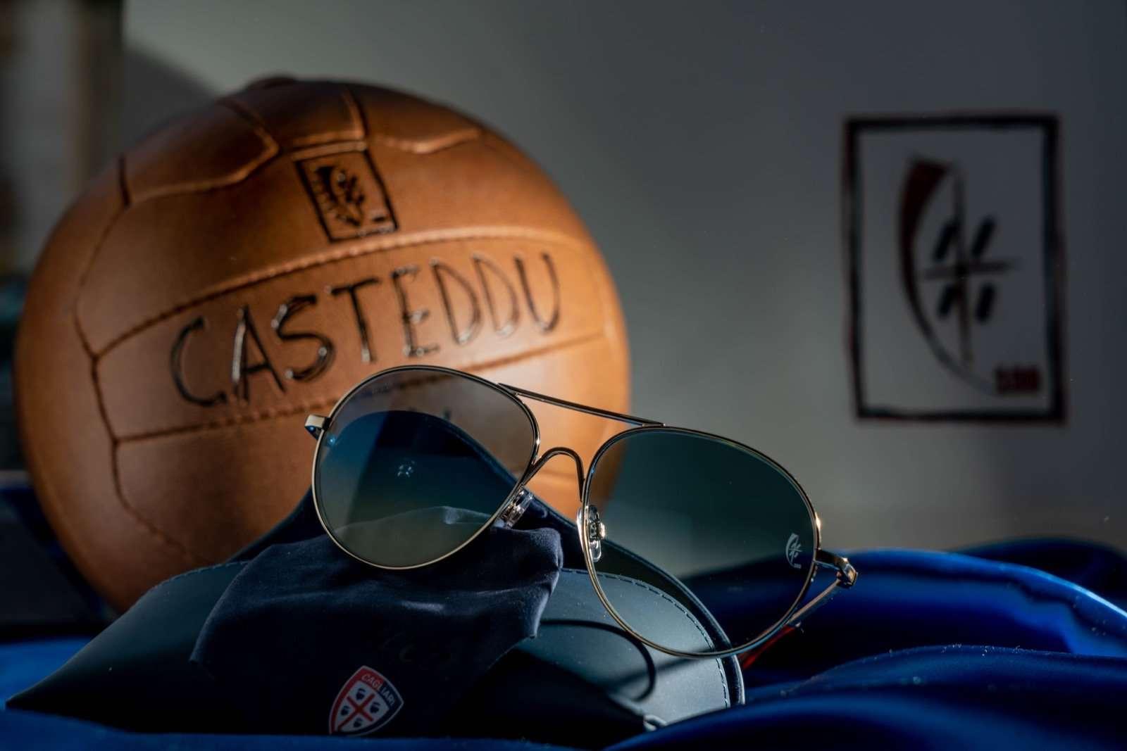 Occhiale centenario okky cagliari calcio 2020