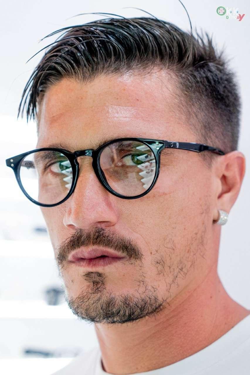 Pisacane occhiale vista okky cagliari calcio 2020